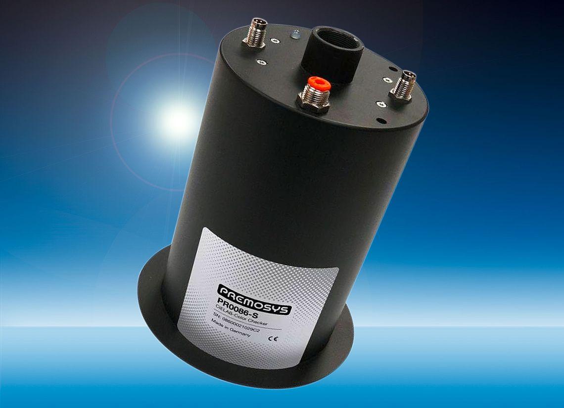 PREMOSYS Inline Farbsensor PR0086-S für komplexe Oberflächen