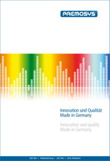 Optische Prüfsysteme der Premosys GmbH